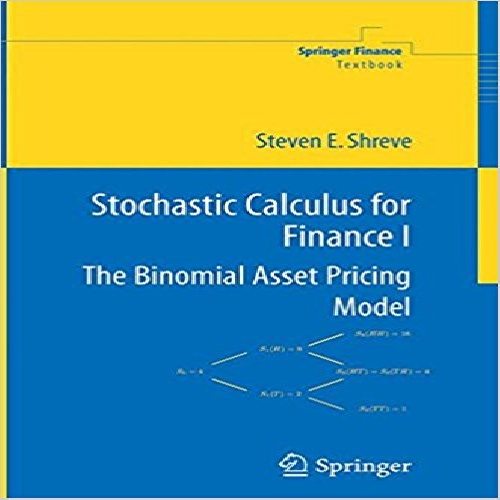 حل المسایل کتاب ( Stochastic Calculus for Finance (Steven E. Shreve